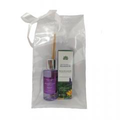 Kit Óleo de Massagem Relaxante + Difusor de Ambiente Lavanda Aromagia (Grátis Sacola Reutilizável WNF)