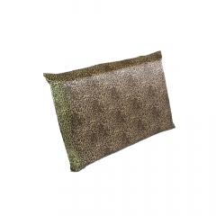 Fronha de cetim antifrizz para travesseiro: Oncinha Dourado