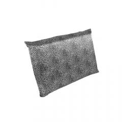 Fronha de cetim antifrizz para travesseiro: Oncinha Prata