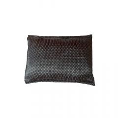 Fronha de cetim antifrizz para travesseiro: Poá Preto e Branco