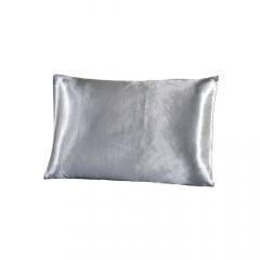 Fronha de cetim antifrizz para travesseiro: Prata