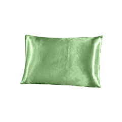 Fronha de cetim antifrizz para travesseiro: Verde Água