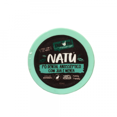 Pó Dental Antisséptico Juá e Menta Natural Messenger 10g