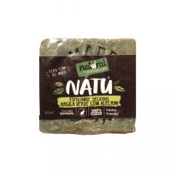 Sabonete Argila Verde Com Alecrim Natural Messenger 90g