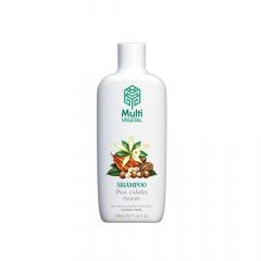 Shampoo de Cacau, Nogueira e Baunilha Multi Vegetal 240mL