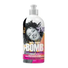 Creme para Pentear Curly Cream Bomb Soul Power 500 mL