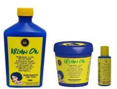 KIT TRATAMENTO ARGAN OIL/PRACAXI LOLA