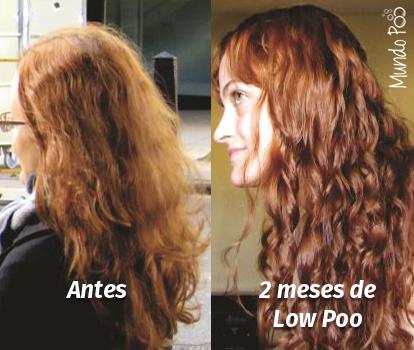 Antes e Depois No Low Poo - Meu Cabelo Natural
