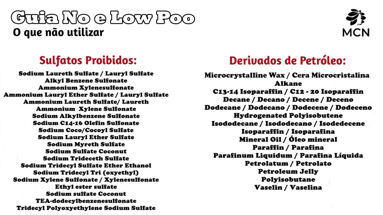 Guia de Bolso 1 No Low Poo - Meu Cabelo Natural
